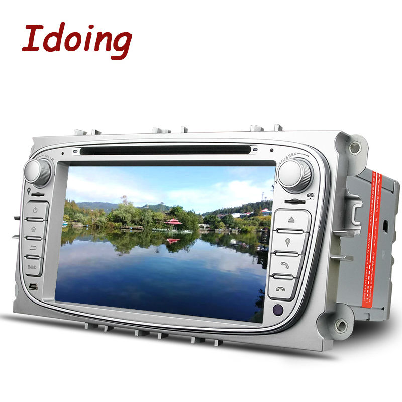 Imaking volant 2Din pour Ford Focus Mondeo s-max voiture lecteur DVD multimédia Android7.1 GPS Navigation Bluetooth TV 3G WIFI