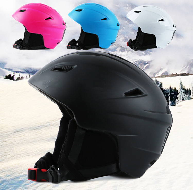 Adult Outdoor Skateboard Ski Helmet Integrally-molded Snow Helmet Protective Skiing Helmet Safety Gear