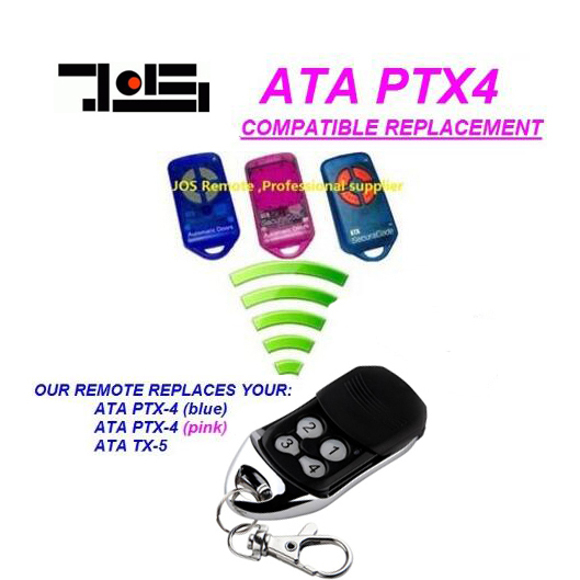 ATA PTX4 herculift ptx-4 garage door replacement remote rolling code ata ptx5 tricode replacement remote 1234button ptx 5 radio contol remote 433 92mhz 434 37mhz 433 37mhz