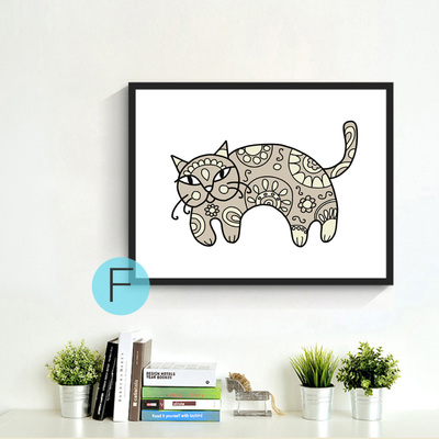 New-decorative-pictures-poster-art-for-kids-room-baby-painting-black-white-Bear-Cat-posters-and.jpg_640x640 (1)