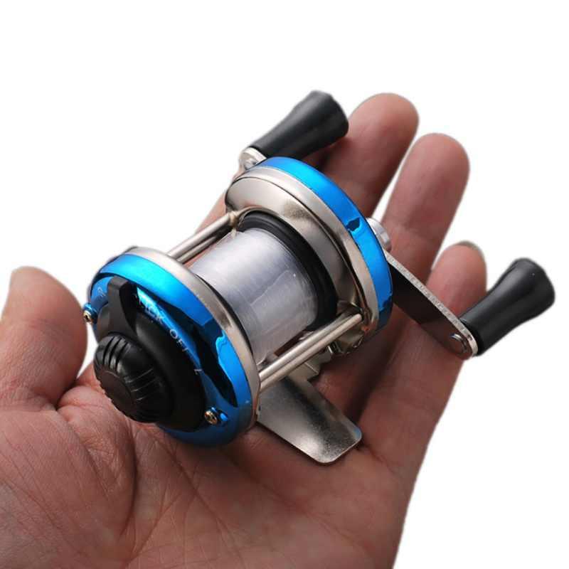 اليسار اليد اليمنى Baitcasting الصيد بكرة 5.2: 1 بيت صب الصيد عجلة مع الفرامل المغناطيسي الكارب Carretilha Pesca
