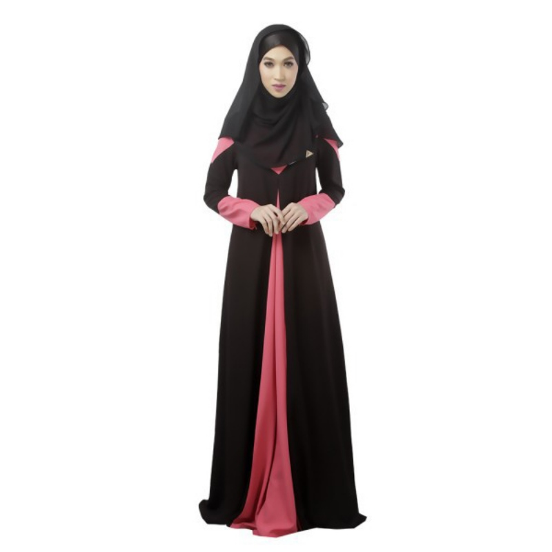 Long Sleeve Maxi Women Slim Dress Kaftan Abaya Jilbab Islamic Muslim Party  Hot