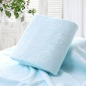 Image 3 - 70X140CM микрофибра быстросохнущее полотенце медведь банные полотенца с героем мультфильма хлопок мягкие сухие полотенца кухня чистые впитывающие полотенца цвет
