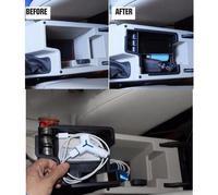 Car styling For Skoda Octavia 5E 2013 2014 Plastic Central Storage Pallet Armrest Container Box 1pcs