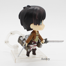 Attack on Titan Eren Jaeger Action Figure Toy Doll 10CM