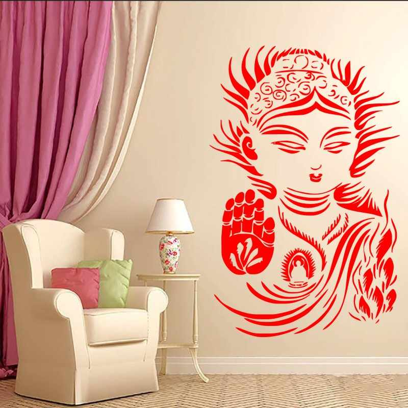 detail feedback questions about buddhism yoga meditation wallbuddhism yoga meditation wall sticker rexlation om zen religious wall decals mural home bedroom art decor