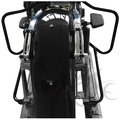 Motorcycle Saddlebag Bracket Guard Crash Bars For Harley Touring Street Road Glide FLHX 14+