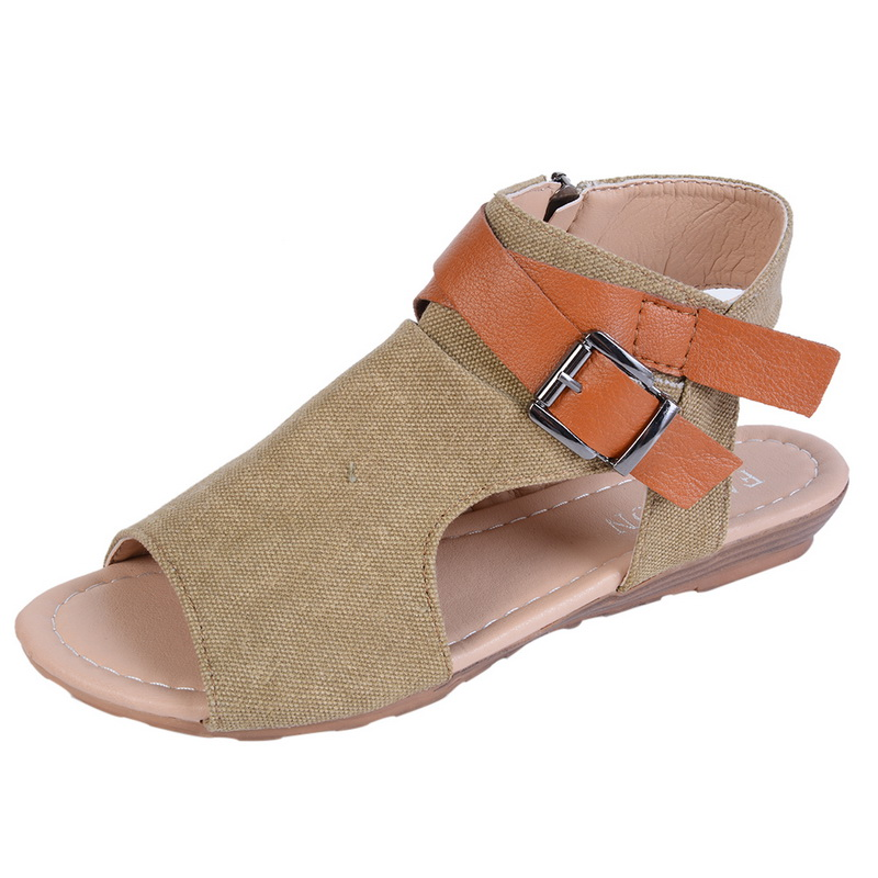 WENYUJH New Roman Womens Sandals Summer Casual Beach Flat Shoes Peep Toe Buckle Ladies Shoes Sandals Buckle StrapWENYUJH New Roman Womens Sandals Summer Casual Beach Flat Shoes Peep Toe Buckle Ladies Shoes Sandals Buckle Strap