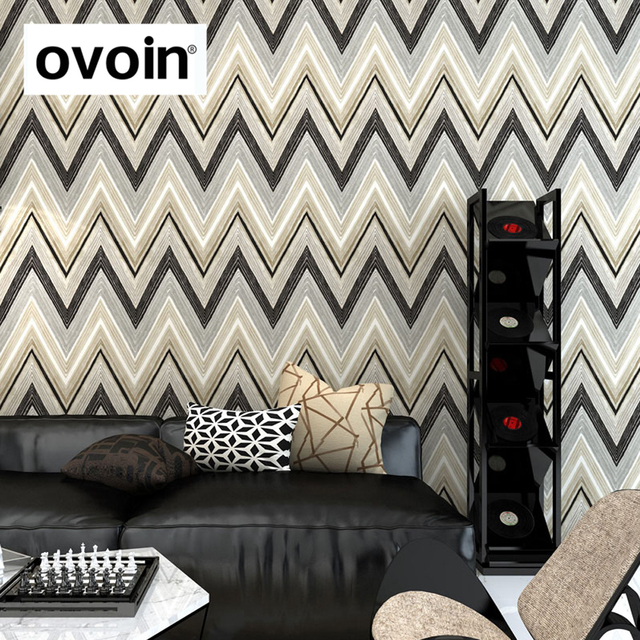 Gray Chevron Wallpaper Grey Geometric Design Wall Paper Roll Pink Red Large Covering Green