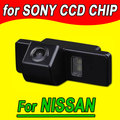 Retrovisor volta inversa cam câmera do carro de estacionamento para Nissan Geniss aqshqai X-trail Citroen c4 C5 Peugeot 307 NTSC PAL (opcional)