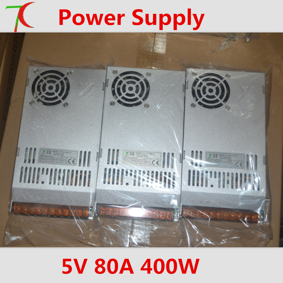 LED Display Dedicated Power Supply,220v-5V80A400W For LED Indoor Or Outdoor Screen