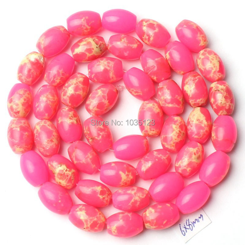 Free Shipping AAA 6x8mm Pink Lace Agates Onyx Oval Shape Loose Beads Strand 15 Jewellery Making w1506