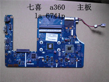 Free shipping Laptop Motherboard for AS 1301 LA-6741P Mother Board E350 CPU on board integrated DDR3 Mainboard