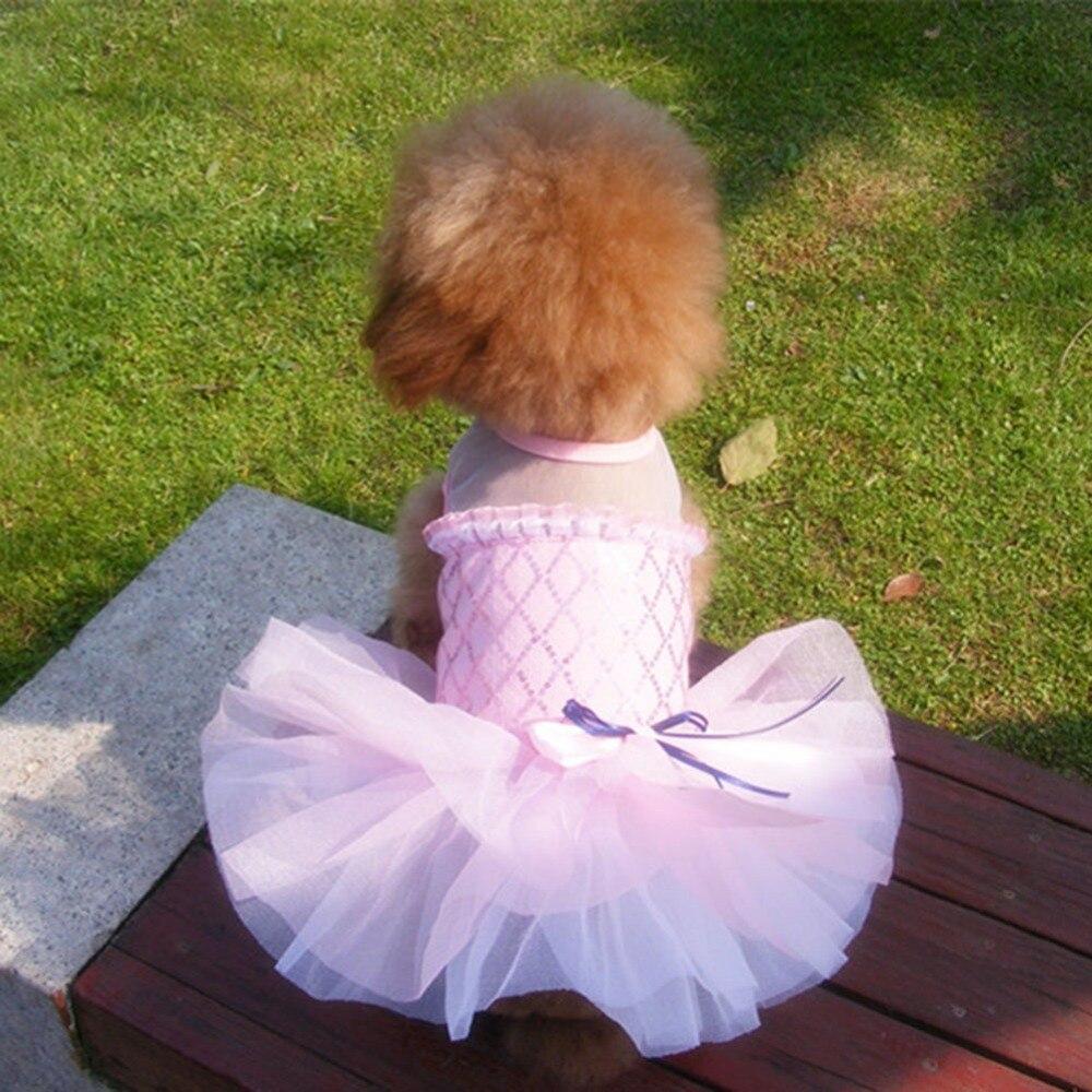 Kutya ruha mackó szoknya, pamut keverék, klasszikus, alkalmi, - Pet termékek
