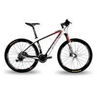 BEIOU Carbon 27 5 Inch Mountain Bike 17 Frame 30 Speed SHI MANO M610 DEORE 650B