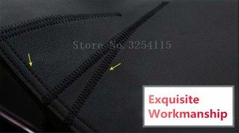 Pour Nissan Tiida C11 2004 2005 2006 2007 2008 2009 2010 cuir Dashmat tableau de bord couverture Pad Dash Mat tapis voiture style RHD