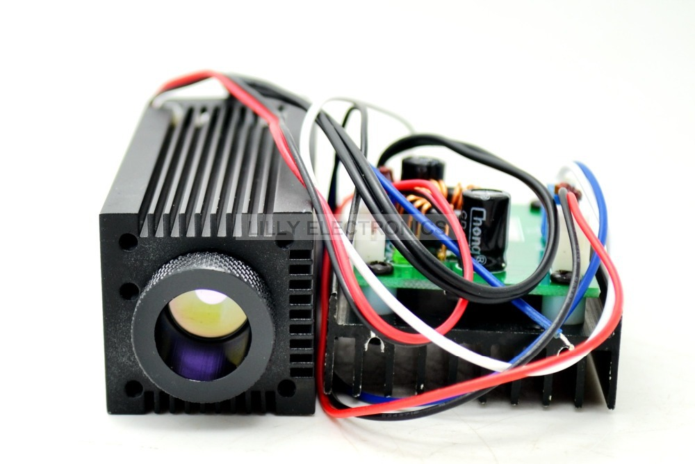 Image 2 - Industrial Focusable 1.6W 2.4W 808nm Infrared Laser Diode Module DC 12V TTL mode-in Stage Lighting Effect from Lights & Lighting