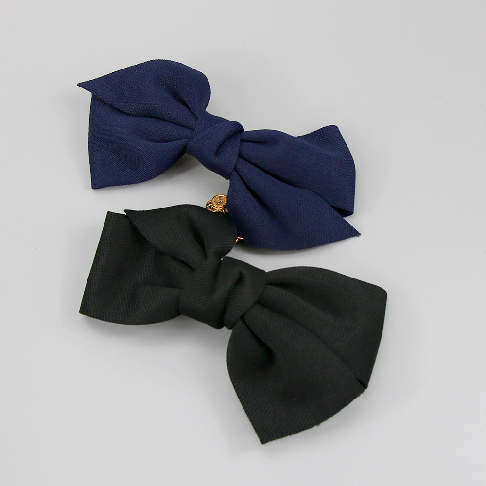 New Arrival Big Solid Cloth Bows Hair Clips Hairpins Hair Accessories for Women Girl Wedding Hair Jewelry