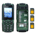 KUH C9 + Barra Larga espera 6800 mAh Gran Voz Tres Tarjetas Bandas duales GSM y CDMA 800 MHz FM Linterna Banco de la Energía del teléfono móvil P116