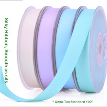 Silky Satin Ribbon For 6 MM 3/8 9 5/8 Inch  1 25 1-1/2 38 Gift Wedding Bows Sewing Accessories Tape