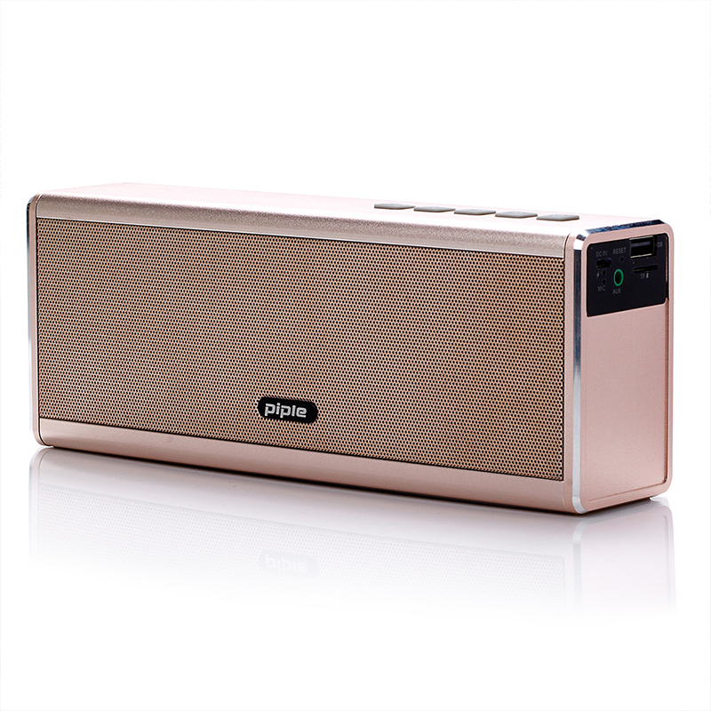 Portable HIFI Wireless Bluetooth Speaker Power Bank 20W 4000mah Super Bass MP3 Player Music Play Loudspeaker For IPhone Android