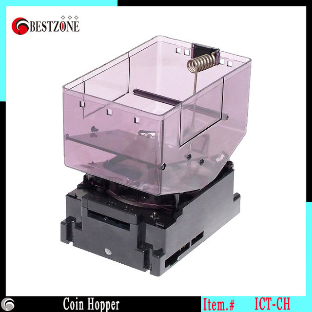 Mini Electronic Hopper Coin Counter Change A Money Box For Vending Machine Part Interface Supporting Pulse