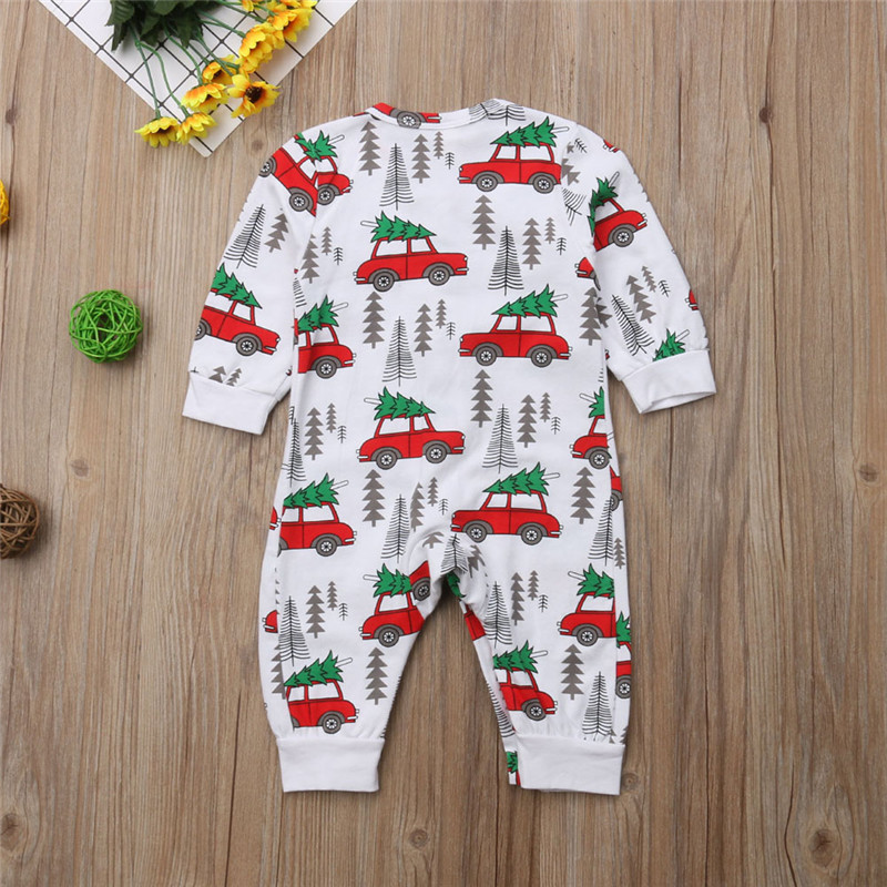 HTB1inFrXcrrK1Rjy1zeq6xalFXaN - pudcoco Xmas Newborn Baby Boy Girl Romper Christmas Tree Car Rompers Cotton Boys Girls single breasted Romper Outfit Clothes