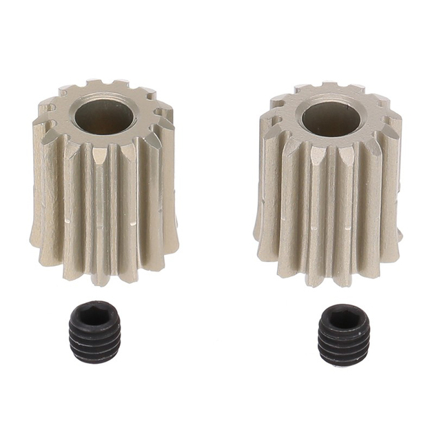 2Pcs 48DP 3,175mm 13T Motor Ritzel Getriebe für RC Auto Gebürstet Bürstenlosen Motor