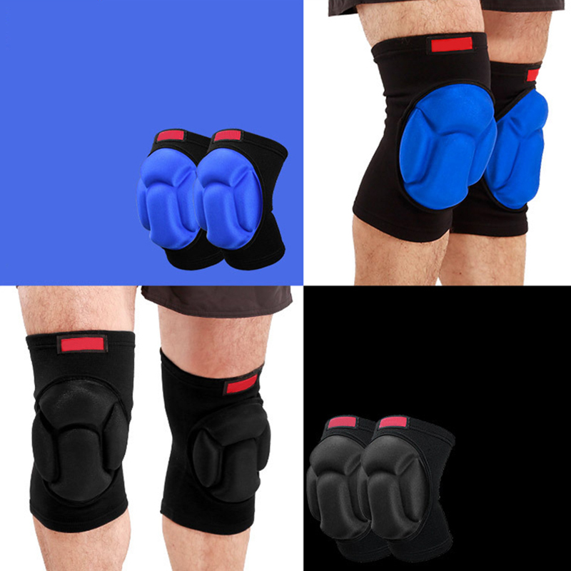 AIBOULLY Thickening basketball Volleyball Extreme Sports knee pads brace support Protect Cycling Knee Protector Kneepad 1 pairs