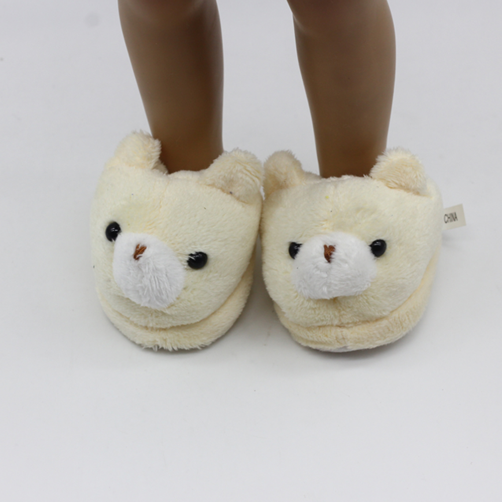 Doll-accessories-pink-Rabbit-slippers-fit-18-2