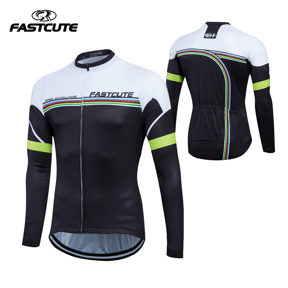 2017 autumn Long Sleeeve Cycling Jersey Roupa Ciclismo Bike Wear Breathable Bicycle Clothing Ciclismo Maillot Cycling