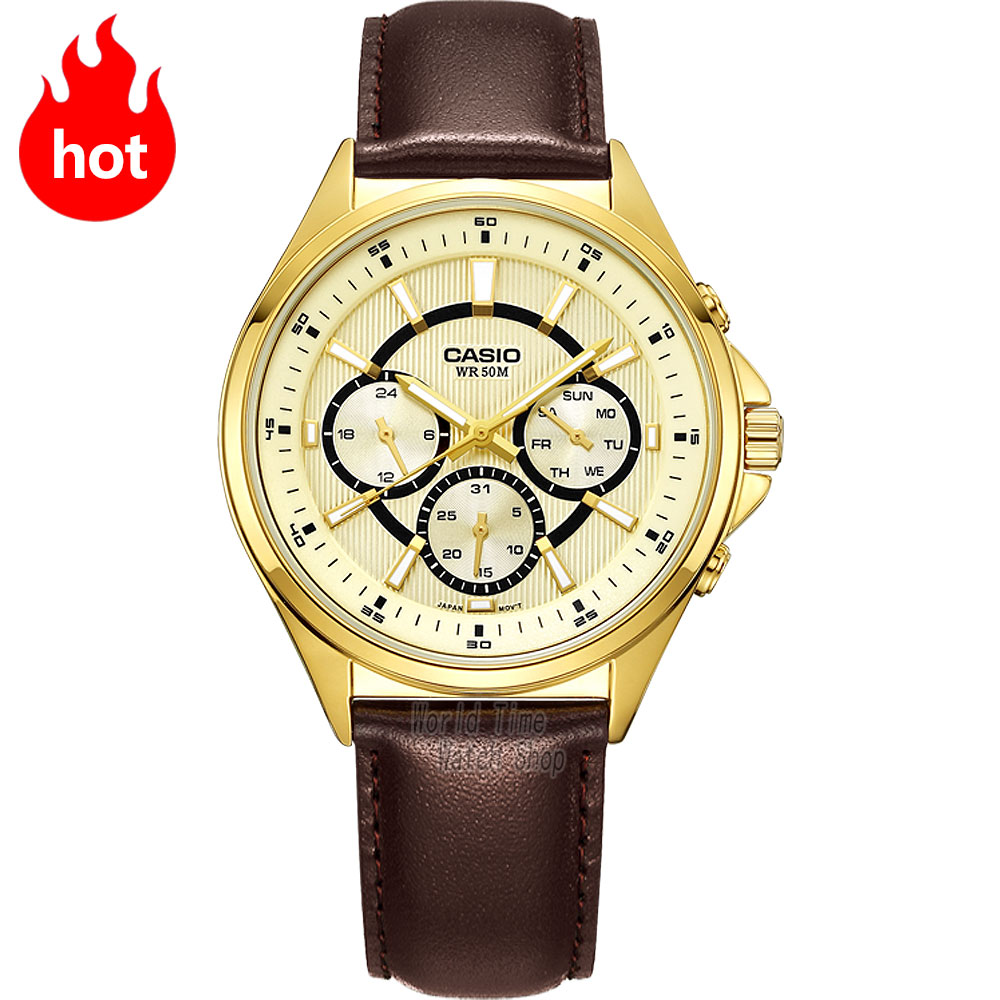 Casio WATCH fashion simple business male watch MTP E303L 7A MTP E303L 9A MTP E303SG 1A