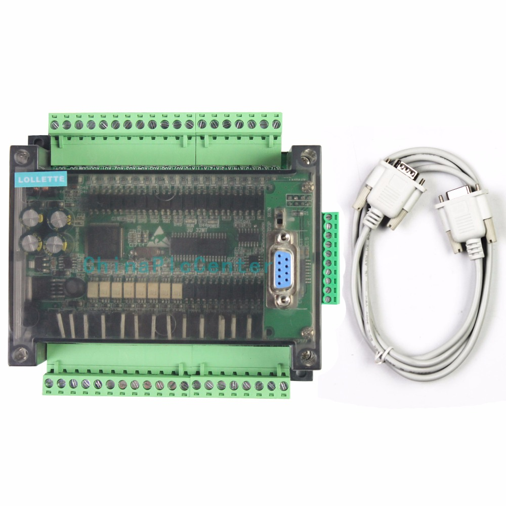 LE3U FX3U 32MT 6AD2DA 16 input 16 transistor output 6 analog input 2 analog output plc