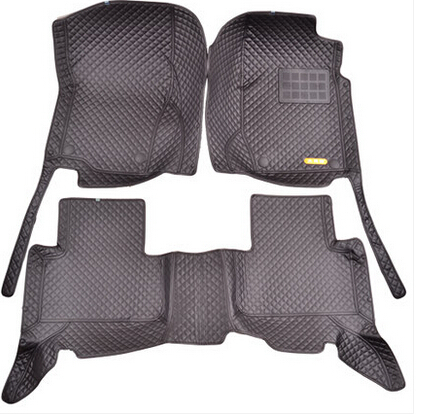 whole surrounded RHD special car floor mats for Right hand drive 750Li F02 2015-2010 easy to clean waterproof carpets