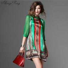 Hippie bohemian style boho hippie dress mexican embroidered dress boho chic dresses CC293(China)