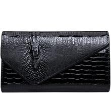 купить Hand clutch bag female 2019 new personality fashion high quality PU handbags temperament handbags party bag chain clutch bag по цене 1250.52 рублей
