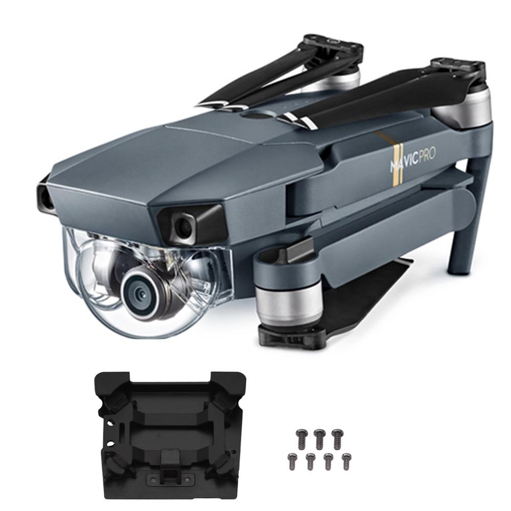 Original Gimbal Vibration Absorbing Board for DJI Mavic Pro drone Shock Camera Damping Gimbal Mounting Plate Panel Spare Parts