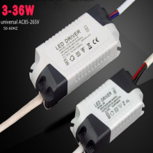 universal AC85-265V LED electronic ballast balastro electronico 3-36W downlight driver3 ballasts 3pcs/lot free shipping