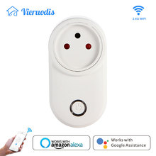 Wifi Smart Plug Israel Socket Outlet 16A Timing Life App Works With Alexa Google Home Assistant Mini IFTTT