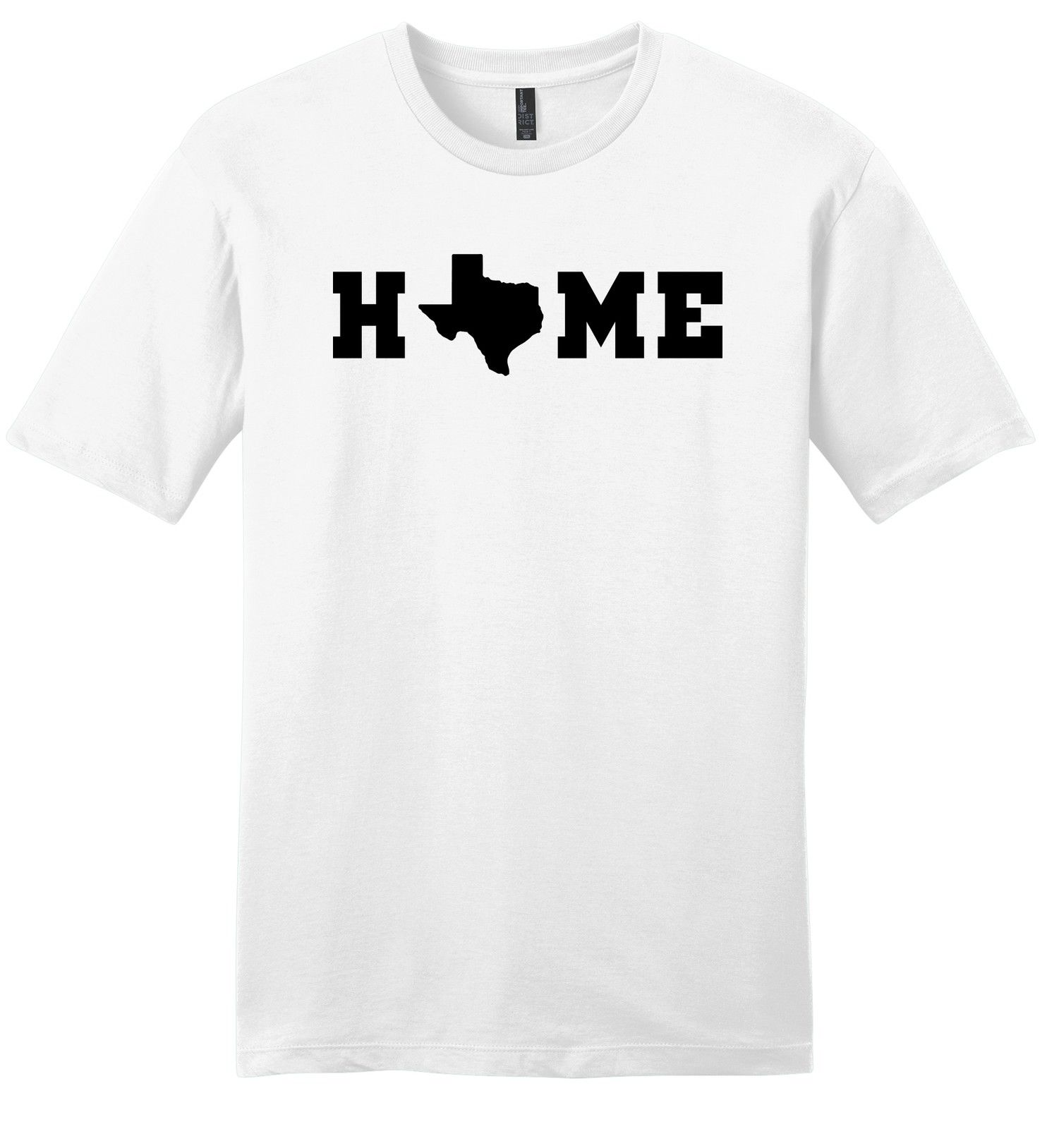 Sleeves New Fashion T Shirt Clothing Short Sleeve Home Texas Map Sot Texas Pride Texan Lonestar State Z2 Casual Crew Neck Men