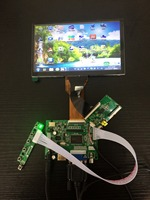 7 Inch 800 480 LCD Capacitive Touch Screen Controller Board LCD Module HDMI VGA AV Driver
