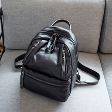 2017 женские рюкзаки Пояса из натуральной кожи школьников сумки для девочек-подростков небольшие рюкзаки Женская дорожная сумка Mochila Bolsas C253