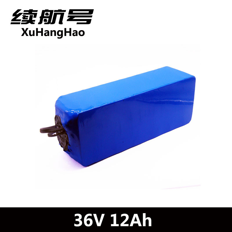 XuHangHao 36V 12Ah 10S4P 36V12ah 500W High 42V 18650 lithium battery pack ebike electric car bicycle motor scooter with BMS