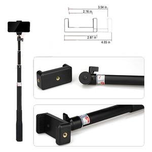 Image 5 - Anordsem Accessories Extendable Selfie Stick Monopod Mount Tripod for GoPro Hero 8 7 6 5 4 sj DJI Action Cameras For XiaomiYI 4K