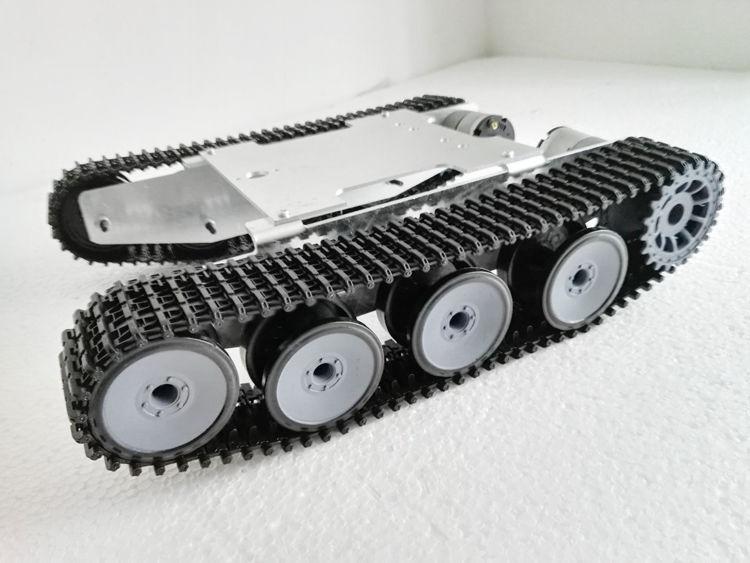 Brand New Aluminum Alloy Caterpillar SUV Robot Tank Chassis For DIY hobbyist brand new motorcycle aluminum alloy