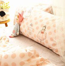 Cute princess bedding set teen kid girl cotton twin full queen king single double home textile