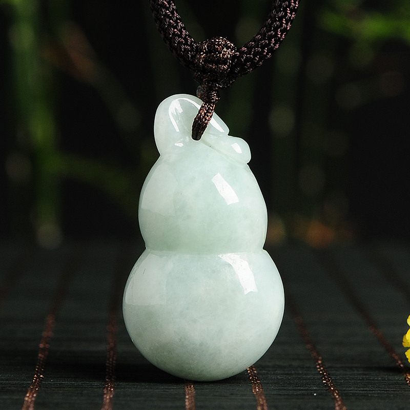 Jewelry & Accessories Tjp Natural Grade A Jadeite Carved Round Copper And Rabbit Sweater Pendants Jade With Certificate Together Year-End Bargain Sale Pendants
