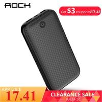 ROCK Power Bank 20000mAh Portable External Battery Charger Dual USB PowerBank for iphone Samsung Xiaomi