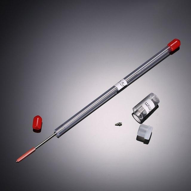 Accesorios para aerógrafo 0,2/0,3/0,5mm boquilla y aguja de repuesto para pistola pulverizadora modelo pulverización herramienta de mantenimiento de pintura