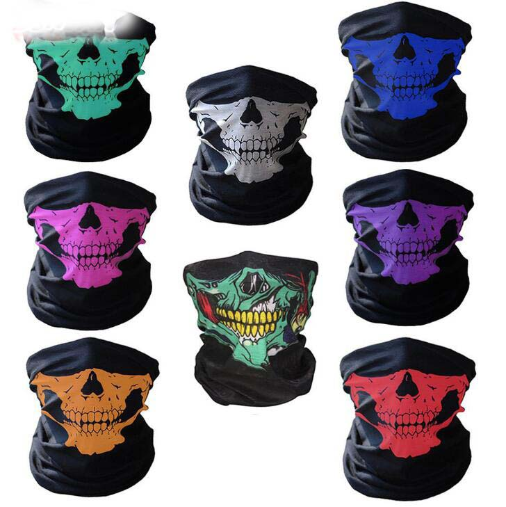 3D Batman Tube Neck Face Scarf Lower Half Face Mask Motorcycle Bicycle Shield Sun Air Soft Outdoor Biker Riding Masks No.111